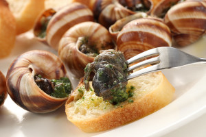 Escargo Appetizer from Paon Restaurant and Wine Bar in Carlsbad, CA