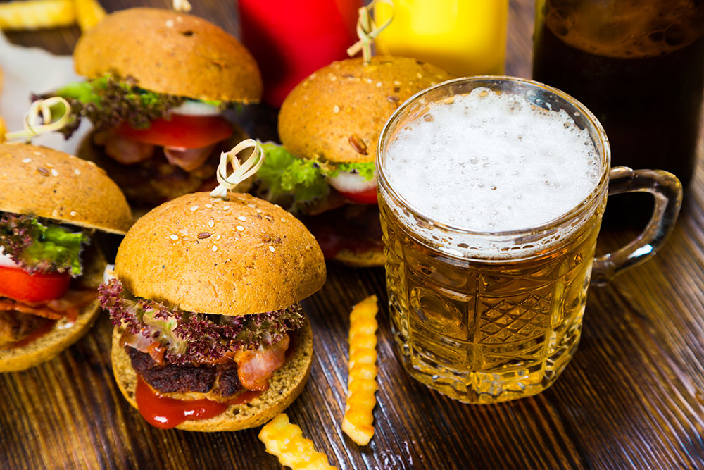 Slider Burgers & Beers from Brabant Bar and Cafe in San Diego, CA