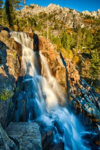 Beautiful Waterfall near South Lake Tahoe