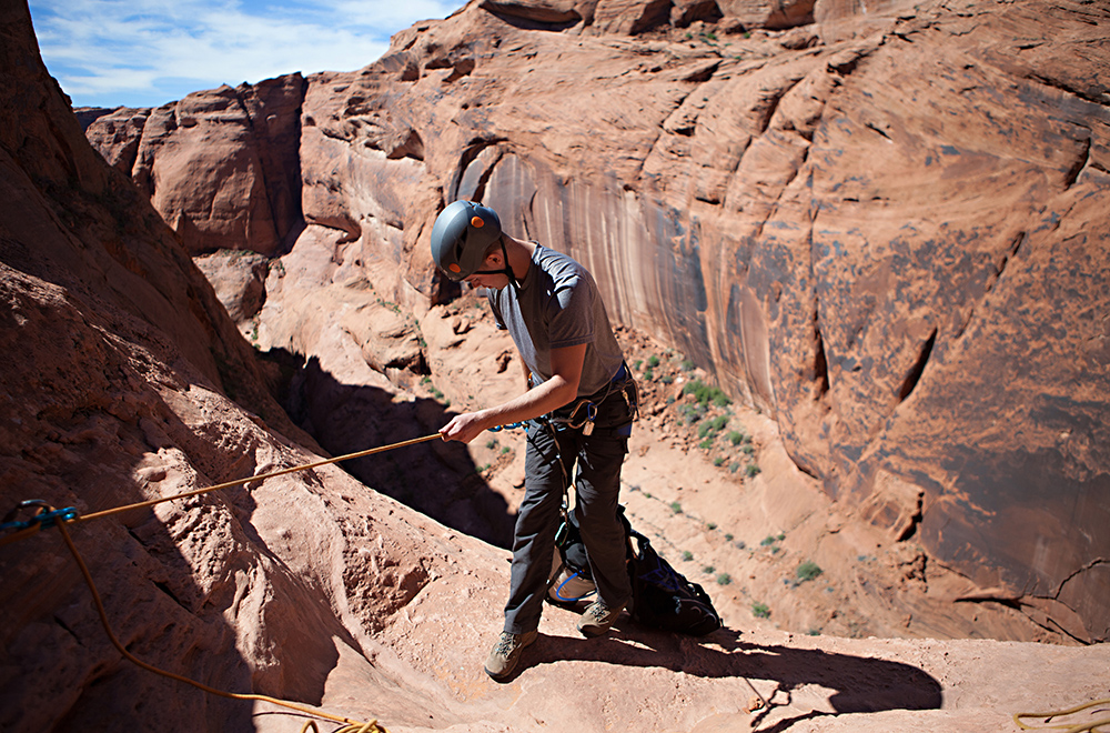 Outdoor Rappelling at Wheeler Geologic Area in Aurora, CO