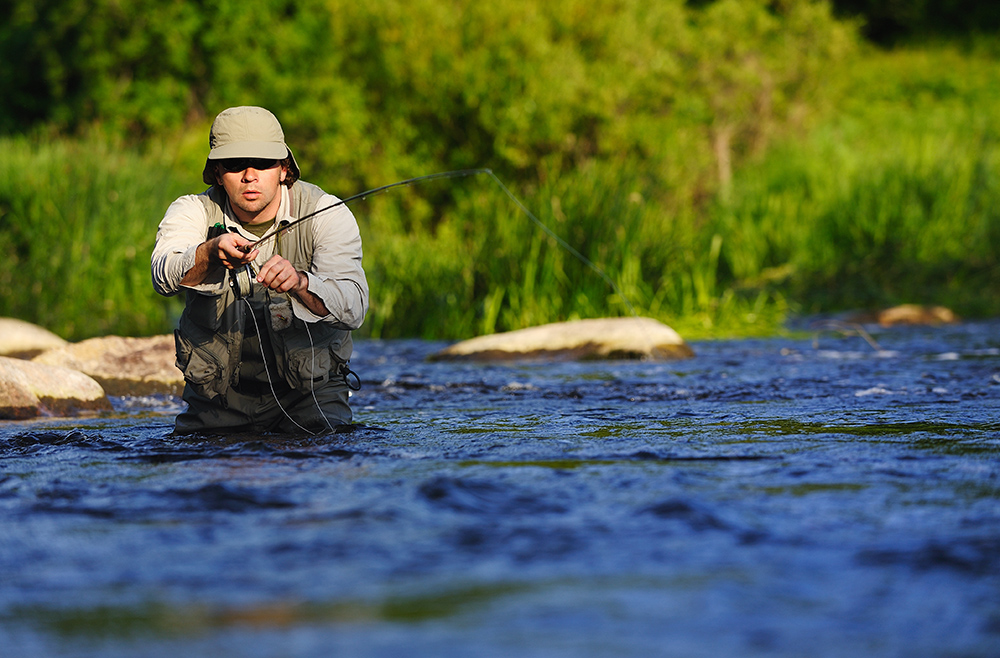 Fly Fishing in Strawberry River in Park City, UT