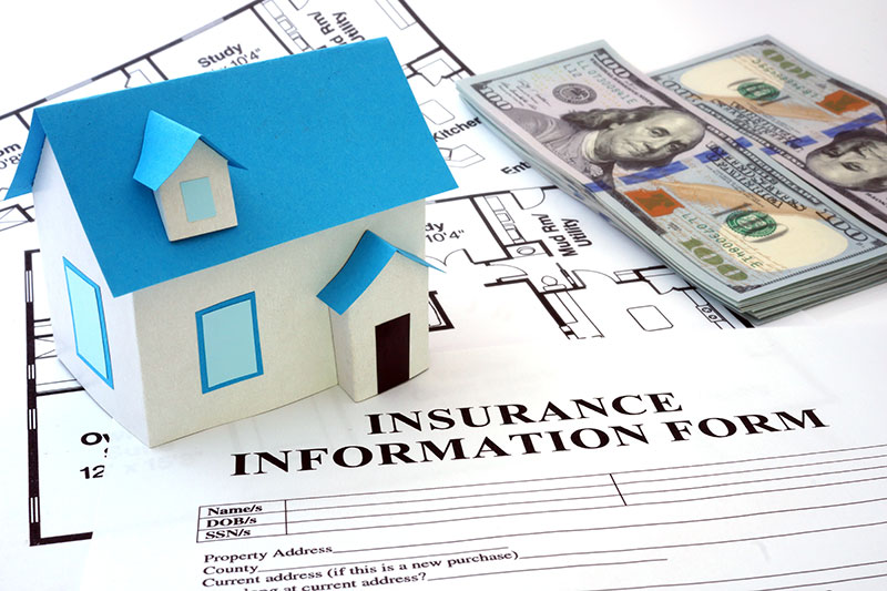 Property Insurance Information Form for Homeowners & Landlords
