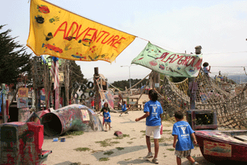 Adventure Playground for Kids in Berkeley, CA