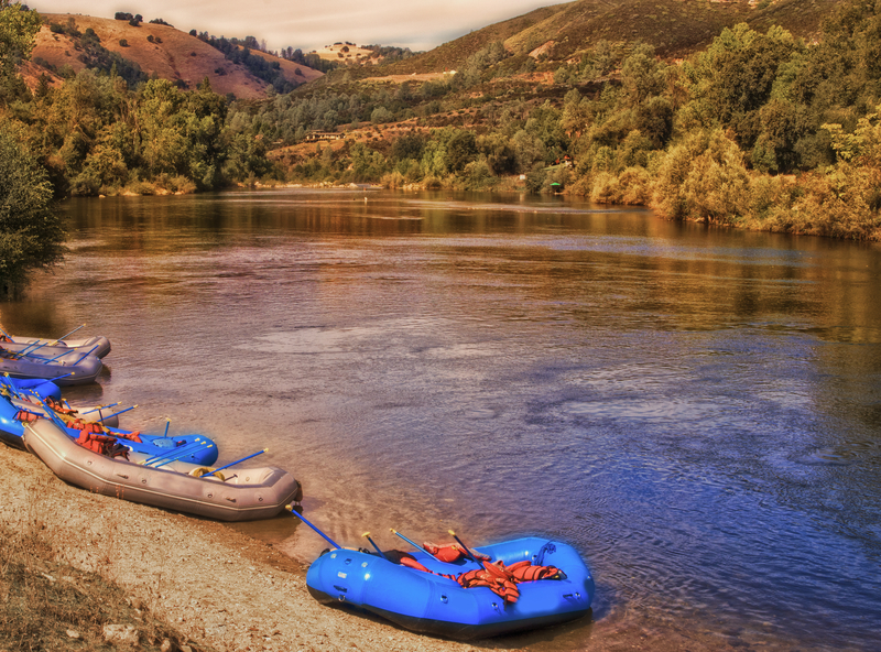 White Water Rafting on the American River in Placerville, CA