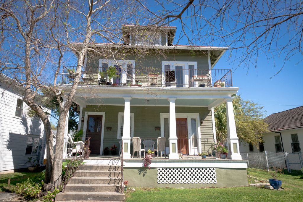 American Traditional Elevated Home - Property Management Blogs