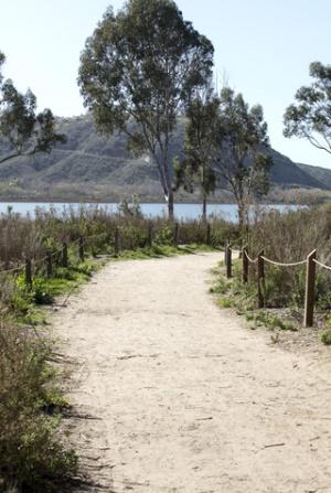Batiquitos Lagoon near Carlsbad & San Diego, CA