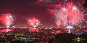 Big Bay Boom Fireworks Show in San Diego, CA