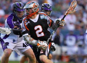 Denver Outlaws Lacrosse Team Playing