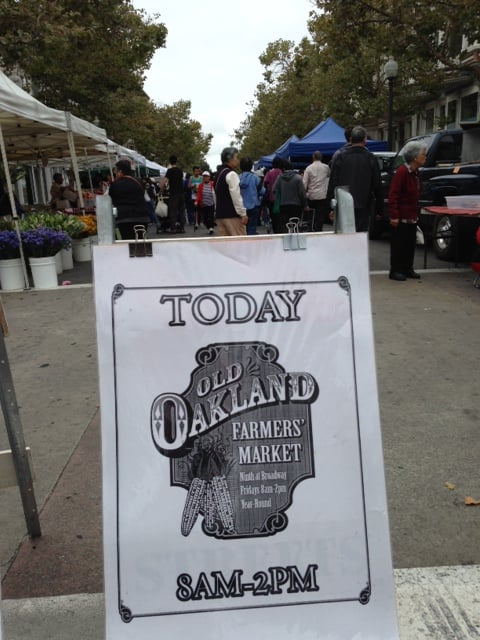 Farmer's Markets in East Bay 2