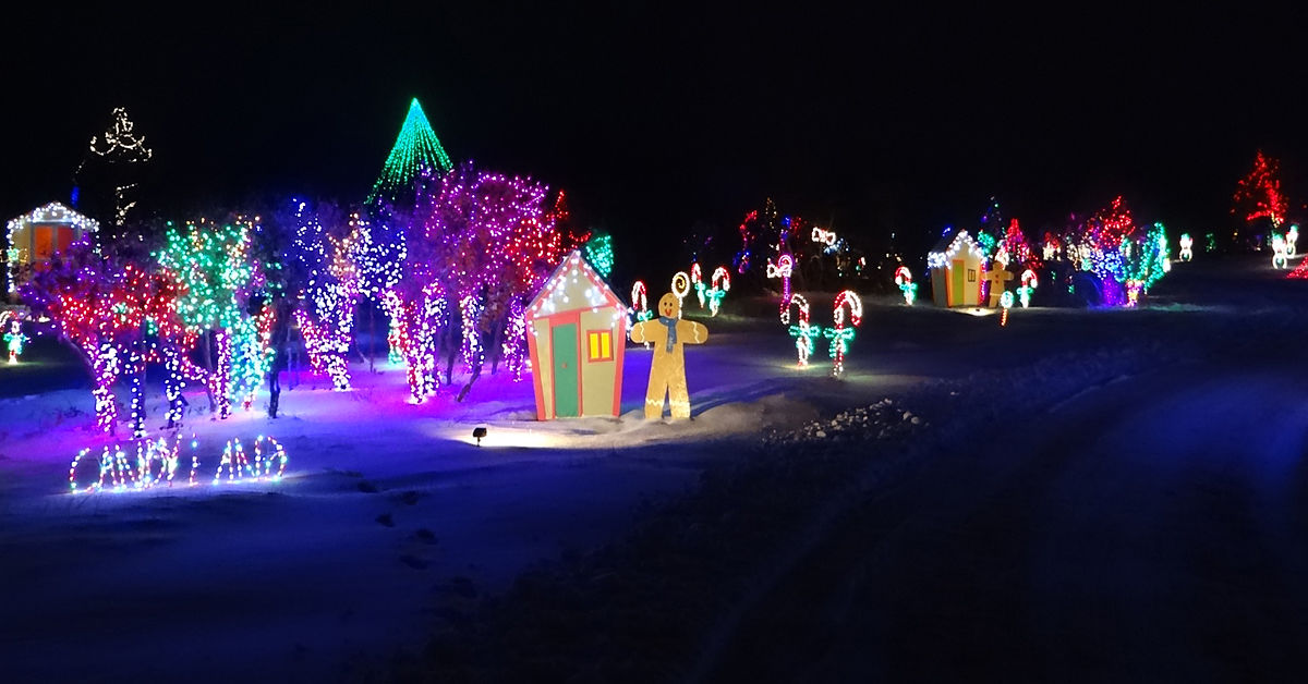 Christmas Lights at Jellystone Park Illumination Light Show in Colorado