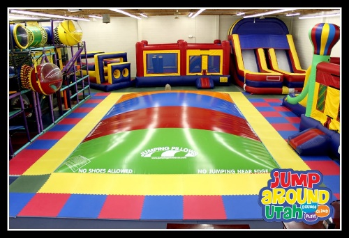 Jump Around Bounce Houses & Obstacle Course in Salt Lake City, Utah