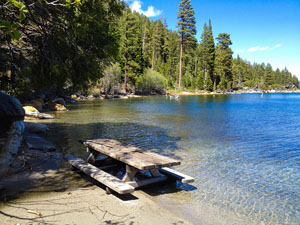 Secret Harbor at Lake Tahoe