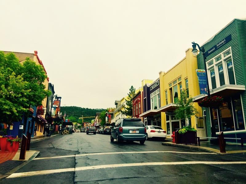 Main Street in Park City, Utah