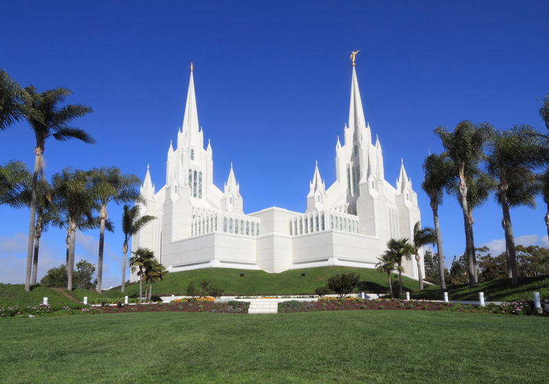 Mormon Temple - The Church of Jesus Christ of Latter Day Saints in San Diego, CA