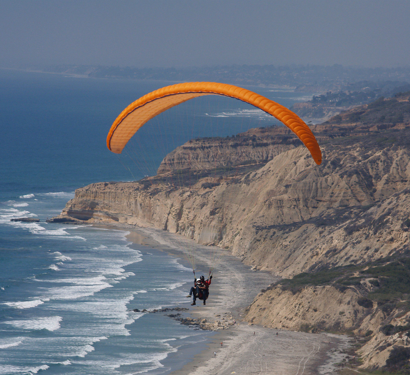 Paragliding Adrenaline Adventures in San Diego, CA
