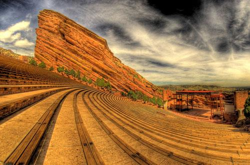 Red Rocks Amphitheatre in Denver, CO