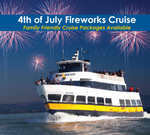 July 4th Fireworks Cruise in San Francisco, CA