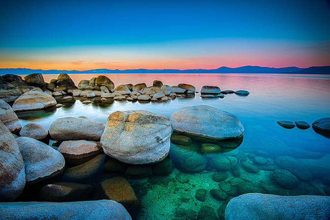 Secluded Beaches Lake Tahoe